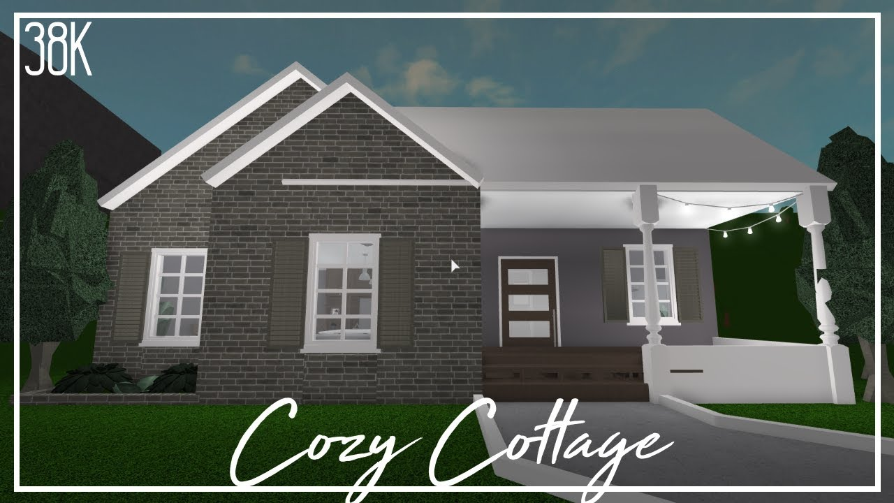 Roblox Welcome To Bloxburg Cozy Cottage Youtube