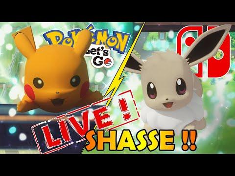 🔴 LIVE SHASSE AU LÉGENDAIRE SHINY SUR POKEMON LET'S GO !!! - #NOSTALGIE !!