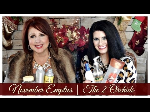 November Empties 2015 | The2Orchids