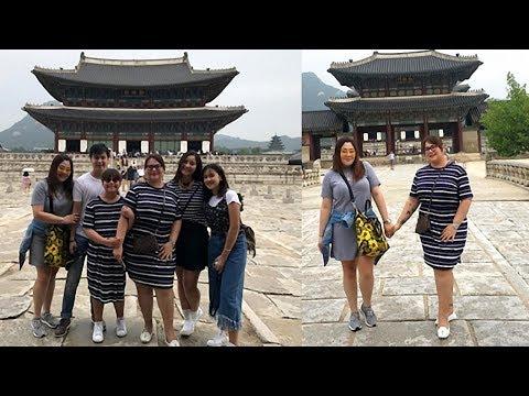 Karla Estrada & Via Veloso vacation in Korea with their kids!