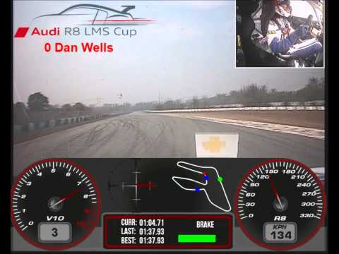 Dan Wells - Audi R8 LMS Cup - Onboard @ Zhuhai