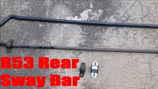 homepage tile video photo for R53 Mini Cooper S Rear Sway Bar Install DIY