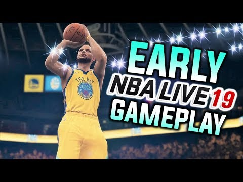 NBA LIVE 19 GAMEPLAY AND FIRST IMPRESSIONS