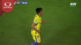 Doblete de Diego Pineda | Necaxa 2 - 3 Atlético | Copa MX J6 Cl19 | Televisa Deportes