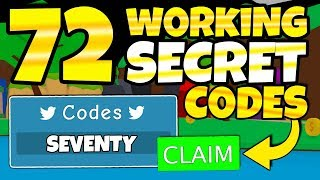 ALL 72 BUBBLEGUM SIMULATOR SECRET CODES! (Roblox)