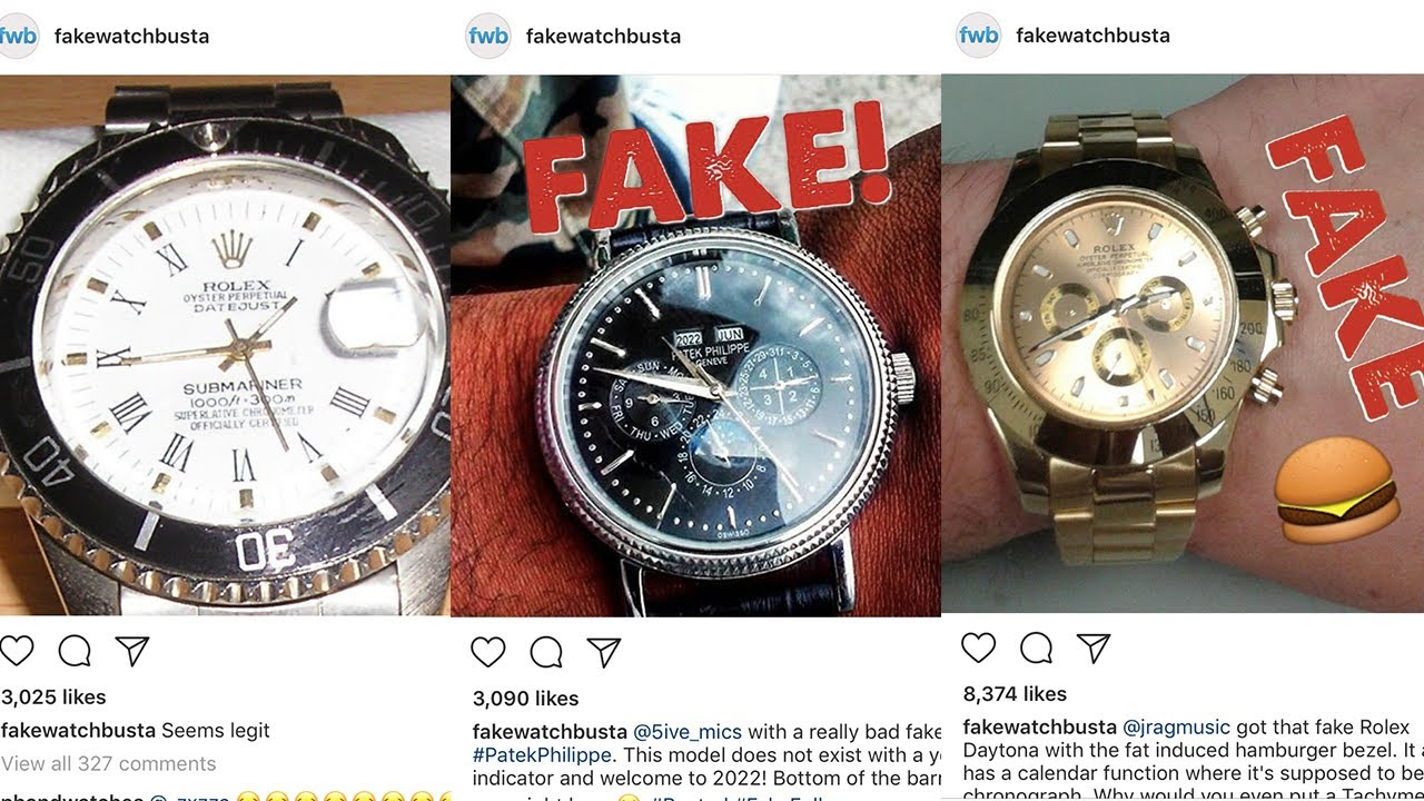 Stop buying fake watches counterfeit watches replica watches rant h youtube for Replica watches