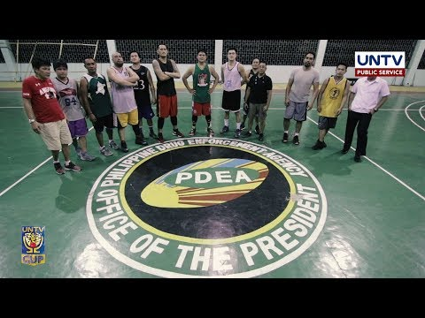 Team Preparation: PDEA Drug Busters — UNTV Cup Season 6