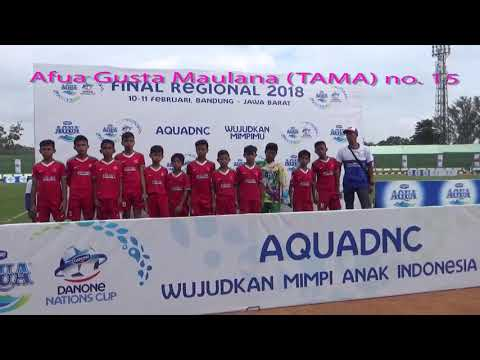 FINAL REGIONAL JAWA BARAT AQUA DNC (DANONE NATIONS CUP) 2018, TAMA & BLiSPI UNI BANDUNG