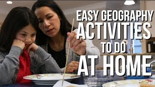 5 Awesome Geography Activities For Kids | Homeschool DIY