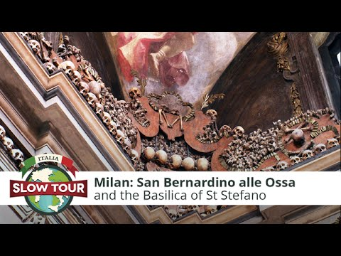 Milan: San Bernardino alle Ossa | Italia Slow Tour