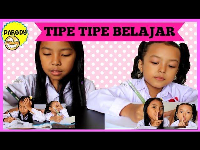 TIPE TIPE BELAJAR   Parody Lucu Anak ? Keira Charma
