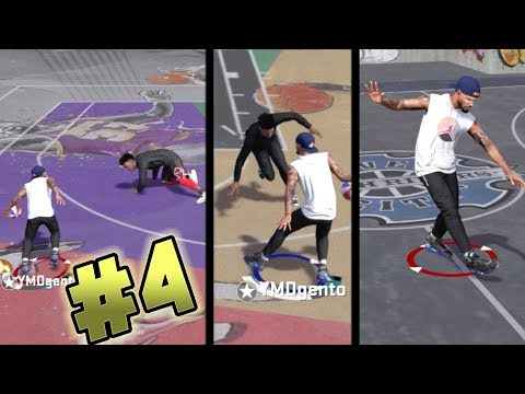 NBA 2k18 Playground - Hall of Fame Ankle Breaker Grind! Broke So Many Ankles I Lost Count! Ep. 4