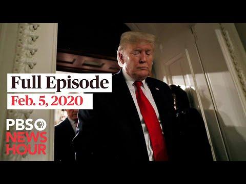 PBS NewsHour West live episode, Feb 5, 2020