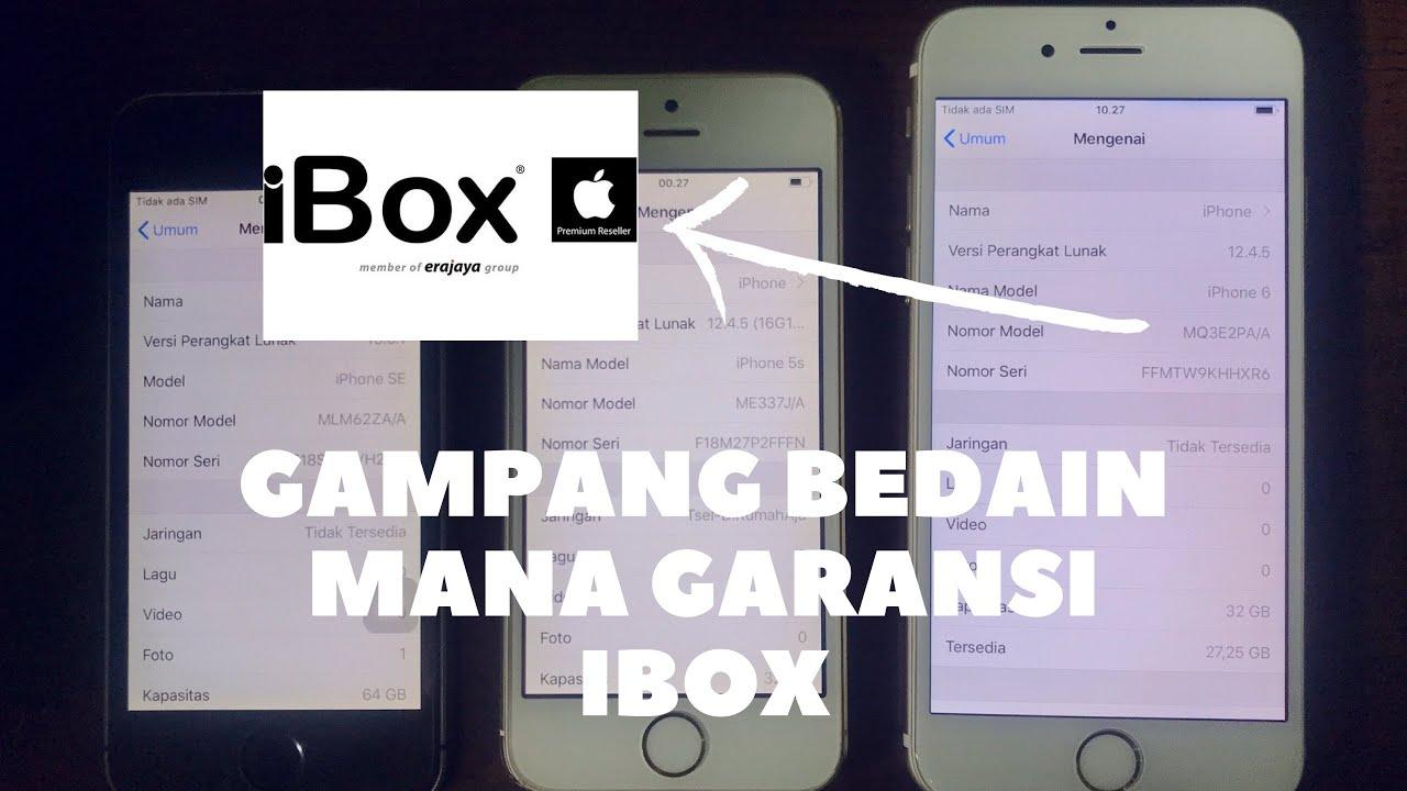 JADI BEGINI CARA CEK IPHONE iBOX ATAU BUKAN DAN BEDAIN IPHONE IBOX