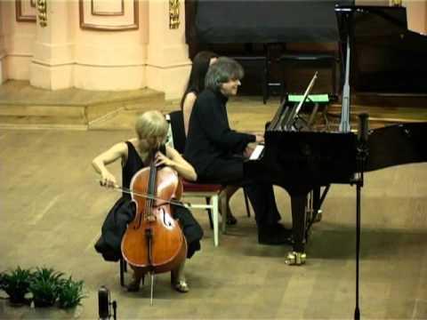 Natalia Khoma & Volodymyr Vynnytsky - Franz Schubert - Arpeggione Sonata in A minor, D. 821 - PART 1