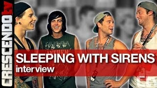 SLEEPING WITH SIRENS interview #2