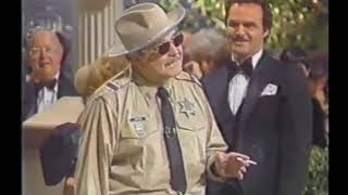 Sheriff Buford T. Justice crashes Burt Reynolds party