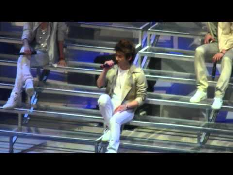 20110716 Shinee 1st concert in Taipei - Romantic 1/13 Mp3