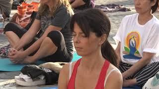 CSB partecipa all' International Yoga Day 2019 in Campidoglio a Roma