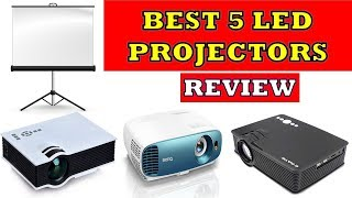 Best 5 LED Projectors in India - Review [2019] || Now Get Theater Like Experience at Home