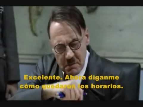 Hitler se entera de su horario en la FCPyS de la UNAM