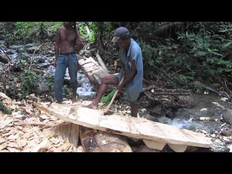 PNG Surfboard Making