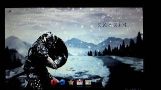 Xoom Skyrim Live Wallpaper