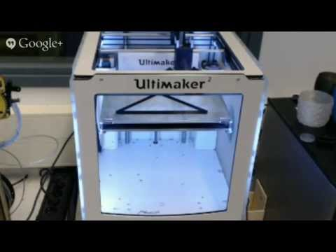 3D printer livecast