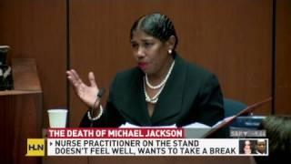 Trial breaks for defense's dizzy witness