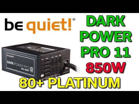 Be Quiet! - Dark Power Pro 11 - 850W - 80+ Platinum - Review