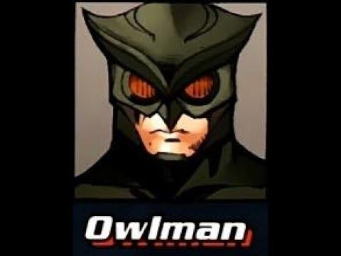 Super Villain Biography: Owlman
