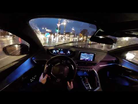 [JUST DRIVE] 2017 Peugeot 3008 POV night drive in Tallinn