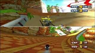 Sonic & Sega All-Stars Racing Two-Player Quicklook