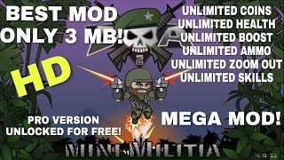 mini militia unlimited health hack god mod v2.2.61 download