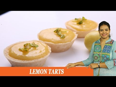 LEMON TARTS - Mrs Vahchef