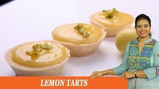 Lemon Tarts - Mrs Vahchef