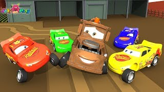 Learning Color Special Lightning McQueen and Tow mater play for kids car toys
