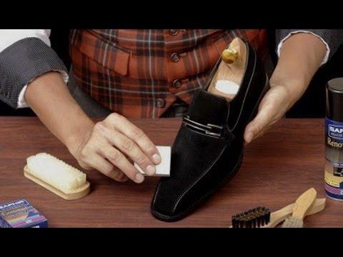 Как обновить замшевую обувь в домашних условиях видео