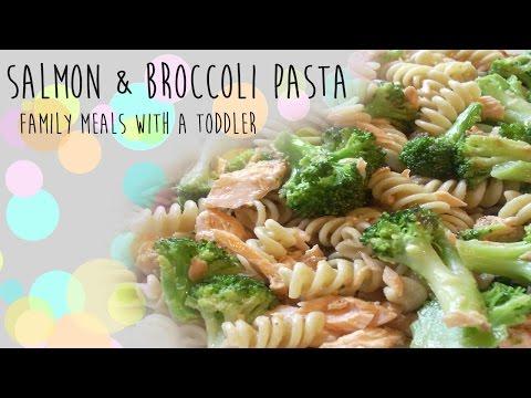 Family Meal Ideas - Salmon & Broccoli Bake