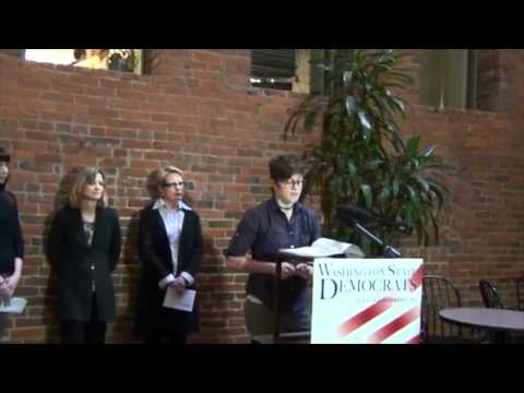 Press Conference - Rob McKenna & the Reproductive Parity Act