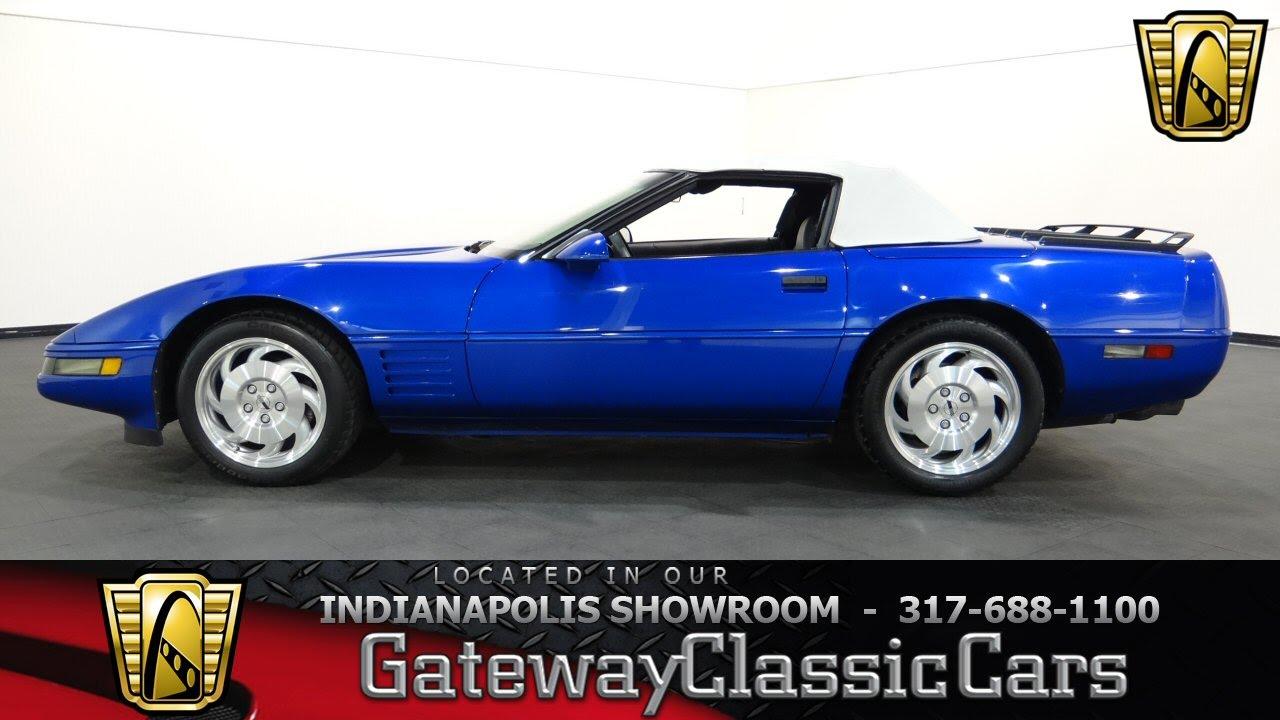 Corvette 1994 chevy corvette : 1994 Chevrolet Corvette - Gateway Classic Cars Indianapolis ...