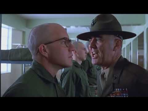 You'd fuck a person in the ass and not have courtesy to give him a reach around | FULL METAL JACKET