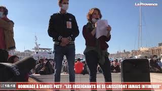 """Hommage à Samuel Paty : """"Les enseignants ne se laisseront jamais intimider"""""""