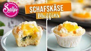 Herzhafte Muffins mit Schafskäse / GAZi Schafskäsemuffins / Sallys Welt