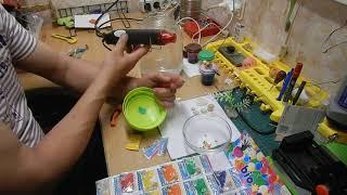 как сделать искусственный аквариум своими руками