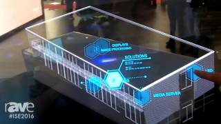 ISE 2016: LANG Presents GhosT-OLED Transparent Interactive Display