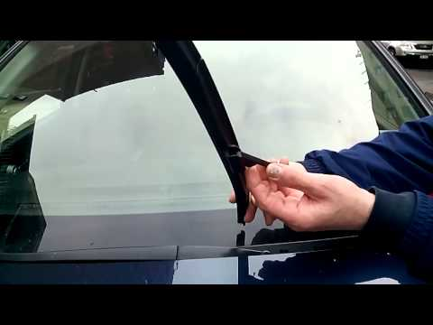 How To Replace HONDA CRV Wiper Blades