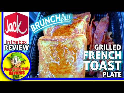 Jack In The Box® | Grilled French Toast Plate Review! 🍳🍞