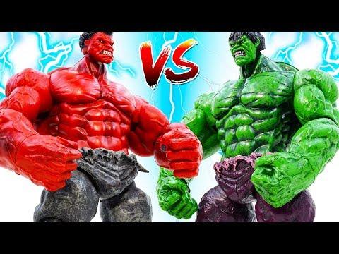 Hulk Vs Red Hulk !Lesson Does Not Litter Indiscriminately | Story Avengers Superheroes Toys