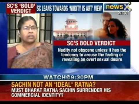 Speak out India: Has time come to accept tasteful nudity as work of art? - NewsX